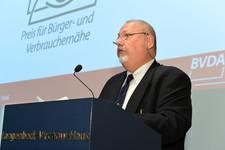 Frühjahrstagung 2012 - BVDA-Präsident Gebauer